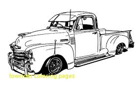 coloring pages of lowrider cars lowrider coloring pages with 1950 chevy truck lowrider cars coloring