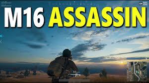 pubg 8x m16 pubg francais m16 assassin suppressed 8x youtube