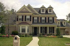 colonial house designs colonial style house plan 4 beds 4 00 baths 5052 sq ft plan 61 387