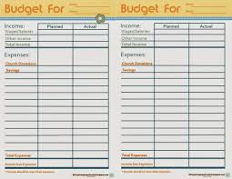 Complete Budget Worksheet Life U0027s Journey To Perfection Family Home Evening Faith In God