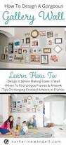 How To Design A Gallery Wall How To Make A Gorgeous Gallery Wall Katherine Wandell