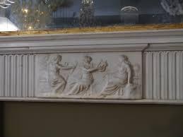 beautifully carved antique georgian surround renaissance london