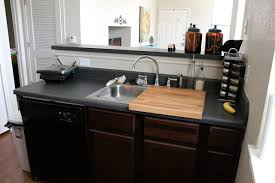 How To Create More Kitchen Counter Space Tiny Kitchen Ideas - Kitchen counter with sink