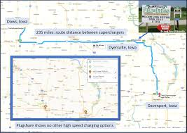 Tesla Charging Stations Map The Reality Of Charging An Ev On The Road U2013 Don B U2013 Medium
