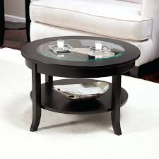 coffee tables appealing round leather coffee table with storage