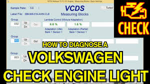 why check engine light comes on volkswagen check engine light diagnosis youtube
