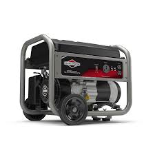 shop briggs u0026 stratton home 3500 running watt portable generator