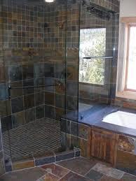 Slate Tile Bathroom Ideas Slate Tile Shower Traditional Bathroom Bathrooms Pinterest