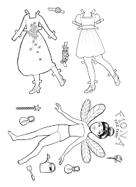 printable paper doll fiona fairy u2013 colouring stuff