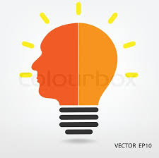 creative light bulb business and ideas concepts stock vector