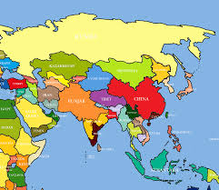 Asia Map by Tibet Map Asia