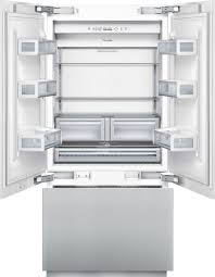 Refrigerator With French Doors And Bottom Freezer - thermador french door freezer bottom 36 inch built in french door