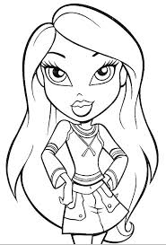 fancy bratz coloring pages 2 bratz coloring pages princess