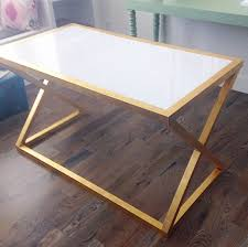 white and gold office desk coral gold white mint office style board jenallyson the with regard