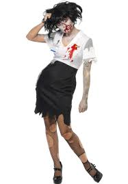 Zombie Costumes Worked To Death Zombie Costume Escapade Uk