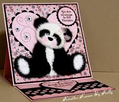 kreative korner by kelly a few birthday cards and a tear panda