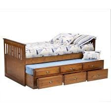 furniture home merlot twin size bookcase captains day bed with