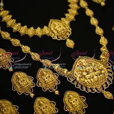 wedding gold sets ws5514 antique nagas wedding bridal dulhan temple jewellery