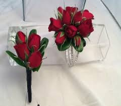 Red Rose Boutonniere Prom Flowers Corsages And Boutonnieres Delivery Greenville Sc