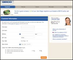 Geico Estimate Car Insurance by Evoc Insights Application Best Practices