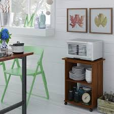 Kitchen Utility Cart by Details About Kitchen Utility Cart Microwave Stand Storage Shelf