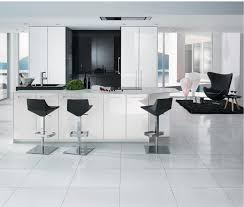 cuisine blanc brillant cuisine blanc laquã inspirations et li laqua brillant bois blanche