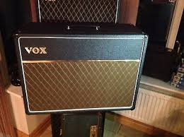 vox ac30 2x12 extension cabinet vintage vox ac30 2x12 extension cabinet super twin jmi refurbished