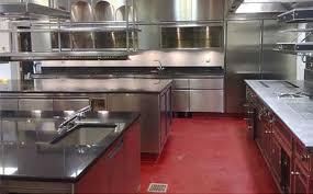 sols de cuisine sol résine cuisine restaurant