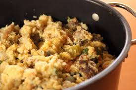 slow cooker thanksgiving stuffing crock pot sausage and cornbread stuffing with kale hgtv