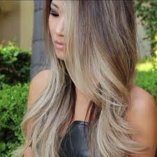 does hair look like ombre when highlights growing out hair color trends 2017 2018 highlights ombre ash blonde can