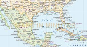 Map Of Caribbean And Central America by Central America Vector Map In Illustrator And Pdf Format