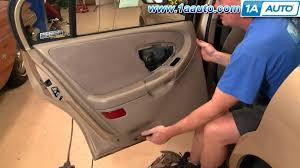 how to install remove rear door panel chevy malibu 97 03 1aauto