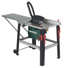 Wood Saw Table Sliding Table Saw Wood Tabletop Tkhs 315 C Metabowerke