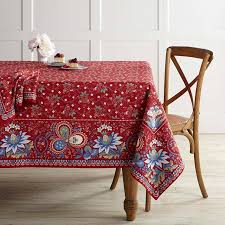 berry meadow tablecloth williams sonoma