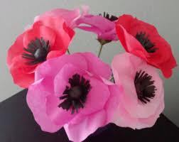 anemone flowers anemone flower etsy