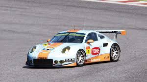 gulf porsche 911 gulf nac porsche 911 super gt 2016 gt300 racedepartment