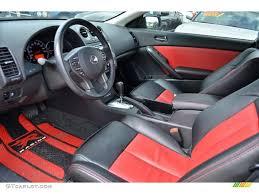 2009 nissan altima coupe interior red interior 2011 nissan altima 3 5 sr coupe photo 59730756