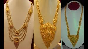 gold long necklace images Top 40 haram gold jewellery designs nepal gold jewellery jpg
