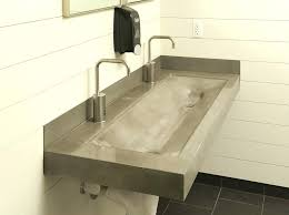 Bathroom Sink Faucets Canada Trough Sink With Two Faucet U2013 Meetly Co