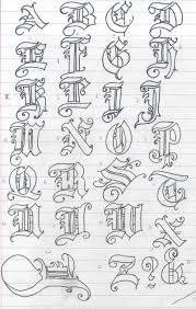 old english letters by soranisasayaku on deviantart