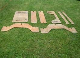 total utilization a plywood picnic table