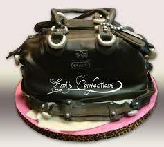 cake purse coach bag purse cake emi ponce de souza turning words into