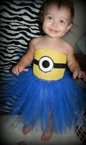 Baby Minion Costume Minion Tutu Dress Minion Tutu Tutu Dresses And Tutu