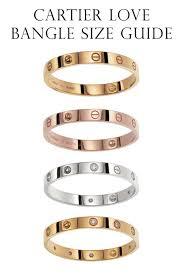 best size bracelet images Majestic looking cartier love bracelet sizes elegant diamond size jpg