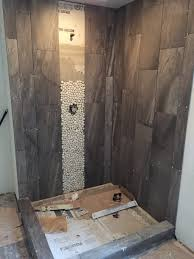 bathroom table awesome shower rock mix mirror