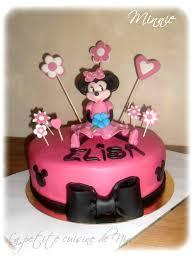la cuisine de minnie gâteau d anniversaire minnie la cuisine de nini