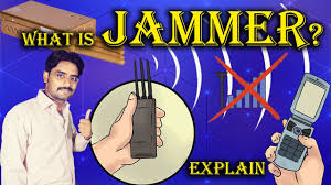 cell phone break the signals what is jammer explained in hindi