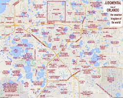 Orlando Parks Map by Judgmental Maps Orlando Fl By Orlando Truth Copr 2016 Orlando