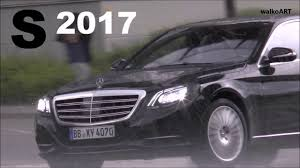 mercedes headlights 2017 mercedes s class spied with all new multibeam led headlights
