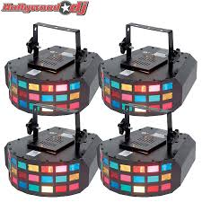 Eliminator Lighting Eliminator Lighting E 138 Tetris 4 Piece Moonflower Scanner Reverb
